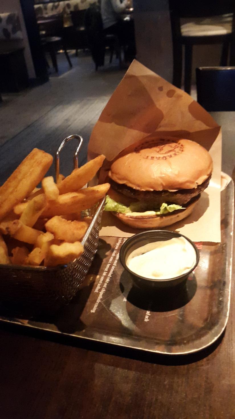 Lyxmiddag på Hamburgerköket